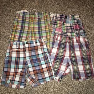 Other - Bundle of Boys Plaid Shorts